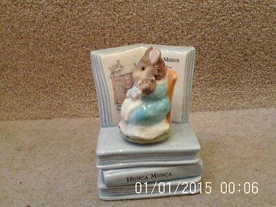 Border Fine Arts Beatrix Potter Musical Figure Hunca Munca Brahms
