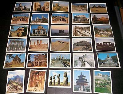 30 of 32 PLAYERS CIGARETTE CARDS TOM THUMB'S WONDERS OF THE ANCIENT WORLD