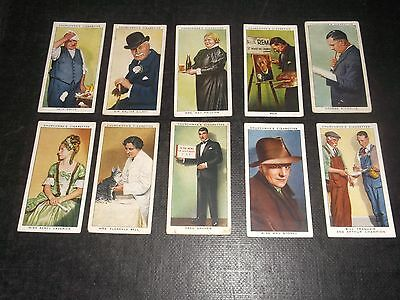 10 Churchman Cigarette Cards In Town Tonight