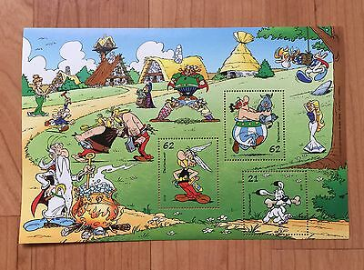 Asterix & Obelix | Briefmarken-Block | Deutsche Post | postfrisch | 01.09.2015