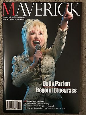 Dolly Parton On Cover Of Maverick Magazine March 2007