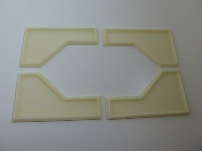Dolls House Miniature 1:12 Scale Building Resin 4 Piece Ceiling Panels