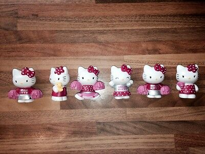 Hello Kitty solid figures, cake toppers,