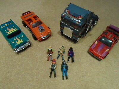 M.A.S.K MASK Kenner 80's Bundle Collection Action figures + Cars Bulldoze Truck