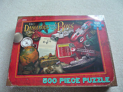 Jigsaw - the dangerous book for boys - new in sealed box