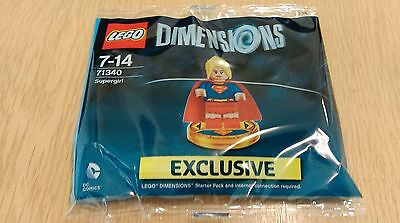 Lego Dimensions Super Girl Exclusive Figure Limited Edition Supergirl 71340 NEW