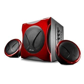 Hi-fi - Energy Sistem - Mp3 Sound System 400 Black & Red