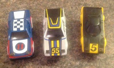3 Ideal Tcr Cars 1977 Numbers 11, 55 & 5