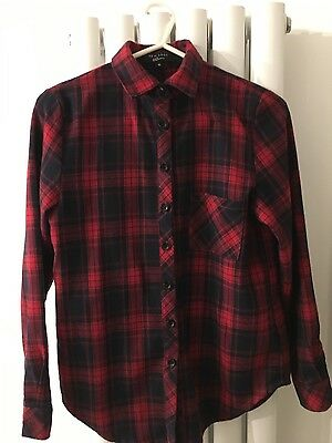 Girls New look 915 checked shirt age 10