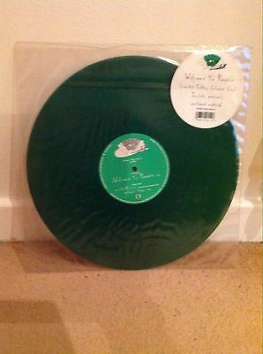 """Green Day - Welcome To Paradise 12"""" Limited Green Vinyl Reprise Excellent Rare"""