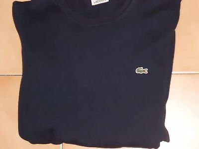 Pull Lacoste bleu taille 3