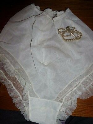 **vintage Figurphit** Cream French Knickers Size 34 - Gorgeous