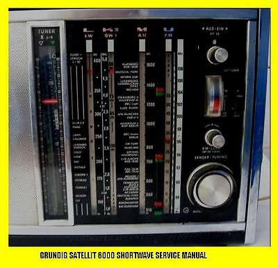 Grundig Satellit 6000 Shortwave Service Manual