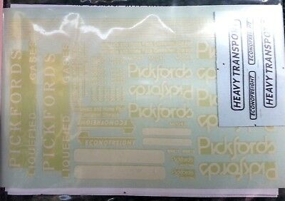 Pickfords / Econofreight (set 2) OO Scale 1:76 Waterslide Transfers T10