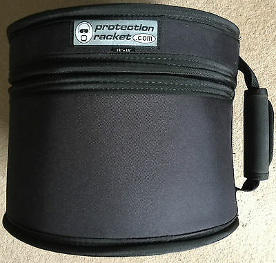 PROTECTION RACKET 12 x 11 TOM DRUM BAG CASE NEVER GIGGED