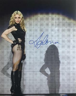 MADONNA (Queen of Pop, Music) signed autograph photo COA