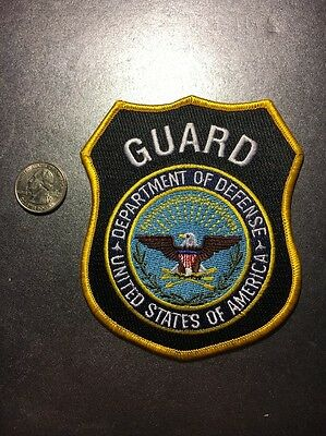 United States Department Of Defense Guard Federal Police Patch DOD