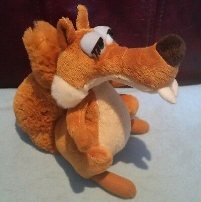 Ice age the movie 3 Girl Red Squirrel soft toy
