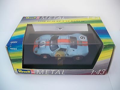 Revell Ford Gt40 No 9 Le Mans 1968 1:43 Scale Diecast Model