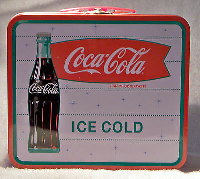 Coca-Cola (Coke) Sign of Good Taste Ice Cold Collectable Tin Lunch Box - NEW