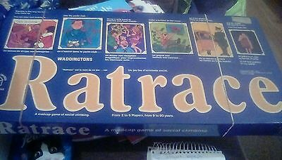 Ratrace vintage board game 1973 waddingtons 100% complete great condition