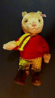 PS* (165) Genuine Rare  Steiff Rupert Bear Limited Edition No 00081 of 1973 NEW