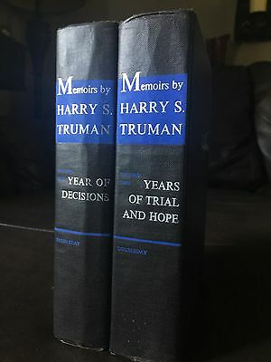 Memoirs by Harry S. Truman Volumes 1 and 2