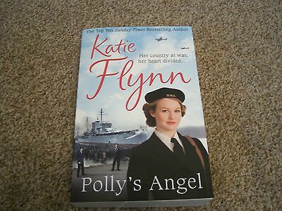 Katie Flynn Polly's Angel paperback book 2016 Arrow Books