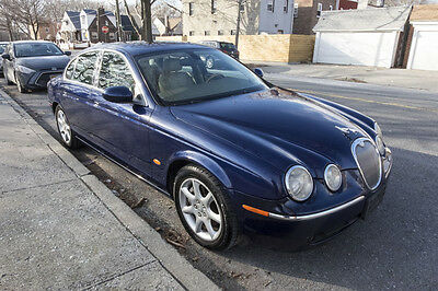2005 Jaguar S-Type 4.2 V8 NO RESERVE! Clean carfax, 4.2 V8 engine, heated leather seats, sunroof, MINT!