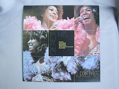 THE SUPREMES Greatest Hits VINYL RECORD LP 1974