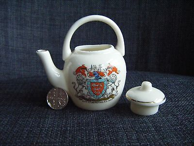Hereford Matching Crest - Wh Goss Hereford Kettle