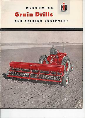 International Harvester Grain Drills Dealers Sales Brochure IH 24 Pgs.