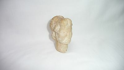 Ancient Greek Carved Alabaster Bust OF A God Extremely Rare