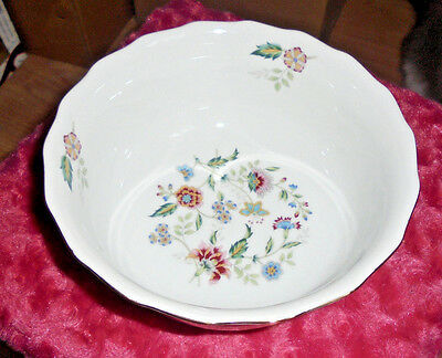 BUCKINGHAM ANDREA by SADEK Floral Pattern Tall Serving Bowl