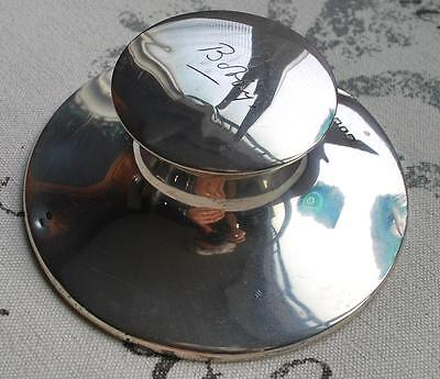 Antique 226.4 Grams Sterling Capstan Inkwell Zimmerman 1918 Engliand Silver Nr