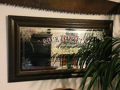 Vintage Jack Daniels Tennesse Whiskey Wall Mirror