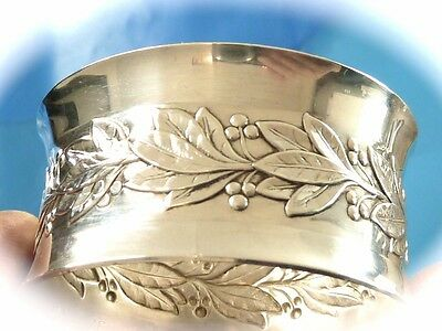 Wallace Sterling Silver Vintage Antique Silver Napkin Ring Sterling 25 Grms
