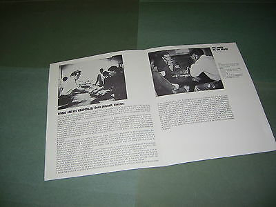Rare Rediffusion TV 1965 Denis Mitchell House On the Beach Publicity