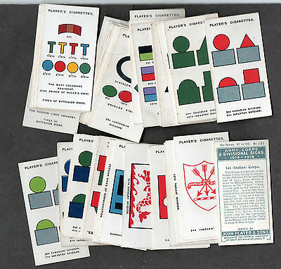full set army corps & divisional signs