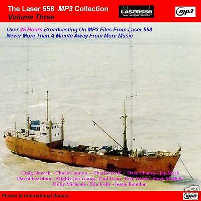 Pirate Radio-Laser 558 VOLUME 3 Over 25 Hours MP3 Files