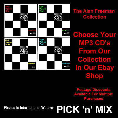 Not Pirate Radio - Alan Freeman MP3 CD Collections PICK n' MIX ! From 4 Volumes.