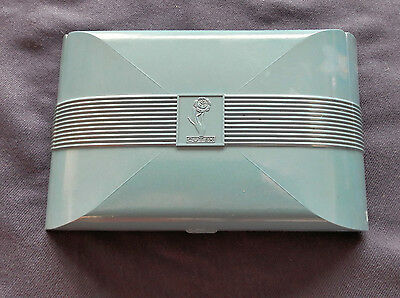 Art Deco Cutex  bakelite manicure box Blue