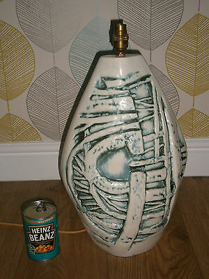 SuperbTremaen Pottery Bowjey Mid Century Lamp base Large  50 cm tall