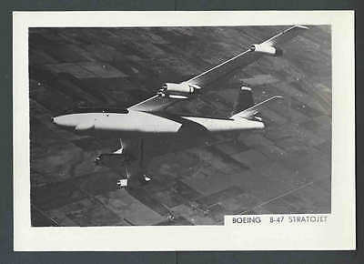 *Boeing B-47 Stratojet Real Photo Mint 3.5 x 5