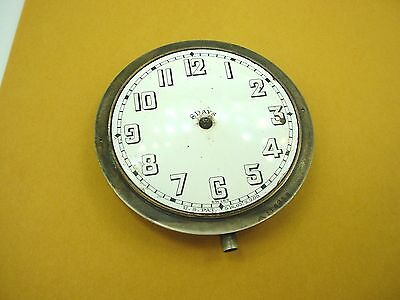 Vintage Swiss Doxa Watch 8 Day Automobile Car Clock for repair
