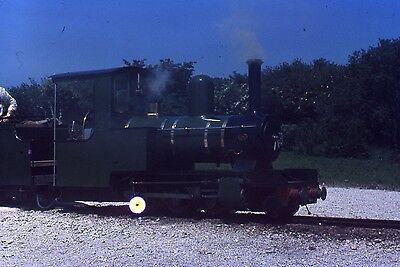 (289) Unknown Miniature Railway Loco - 35mm Colour Slide