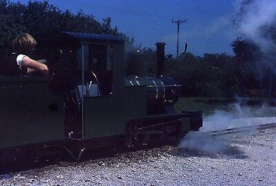 (278) Unknown Miniature Railway Loco - 35mm Colour Slide