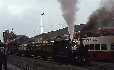 (316) Isle Of Man - Narrow Gauge -  No. 12 Hutchinson - 35mm Colour Slide