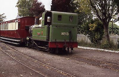 (310) Isle Of Man - Narrow Gauge -  No. 13 Kissack - 35mm Colour Slide