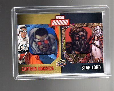 2016 Upper Deck  Marvel Annual Dual Character DCP-8 Patch card